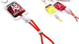 Phony blood bag cell phone charm is sure to bring the decontamination team running