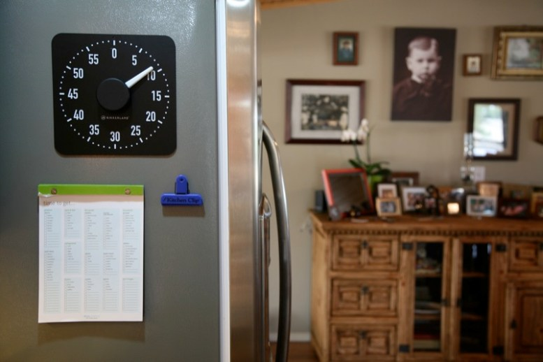 GearDiary The Useful Things Magnetic Rotary Kitchen Timer Review
