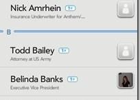 Palm Pre App Catalog. 30 Apps in 30 Days. Day 14: LinkedIn