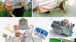 $472 emergency pet evacuation vest is perfect for the crazy cat lady in your life