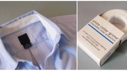 White collar grime - disposable shirt protectors for those who hate washing their neck