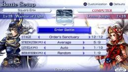 Dissidia Final Fantasy for PSP Review