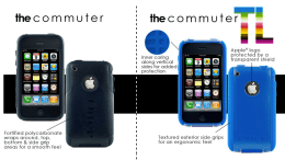 Otterbox Commuter and Commuter TL Colors for iPhone 3G &3Gs Review