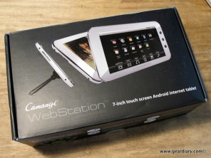The Camangi Webstation Unboxed