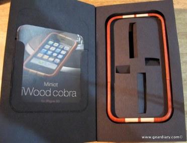 GearDiary The Amazing Miniot iWood Cobra iPhone Case