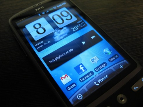 HTC Desire with HTC Sense and Android 2.1 Review