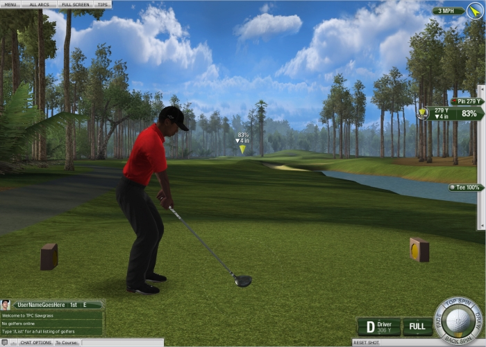 Tiger Woods PGA Tour Driving