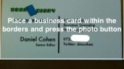 ABBYY Business Card Reader- iPhone App Review