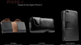 Sena iPhone 4 Case Roundup
