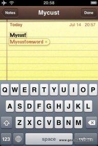 Add Custom Words to iPhone Dictionary  Add Custom Words to iPhone Dictionary  Add Custom Words to iPhone Dictionary  Add Custom Words to iPhone Dictionary
