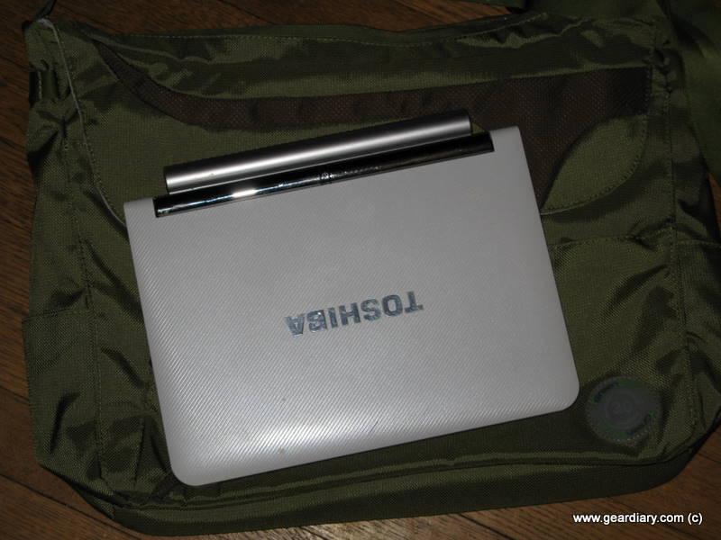 GearDiary Review: GreenSmart Puku Messenger Bag