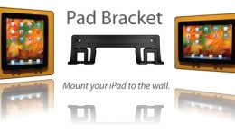 Pad Brackets Lets You Hang Your iPad Anywhere That You Have a Wall...