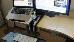 Work Gear Review- The Ergotron WorkFit Sit-Stand Desk