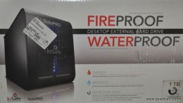Mini Review:  ioSafe SoloPRO Fire & Water Proof External Hard Drive