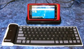 Review: Roll-able Bluetooth Keyboard from EFO Gadget Shop  Review: Roll-able Bluetooth Keyboard from EFO Gadget Shop  Review: Roll-able Bluetooth Keyboard from EFO Gadget Shop  Review: Roll-able Bluetooth Keyboard from EFO Gadget Shop