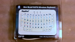 Mobile Phone Gear Review: iPazzPort Bluetooth Wireless Keyboard
