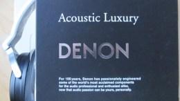 Audio Gear Review- Denon AH-D 1100 Over-The-Ear Headphones