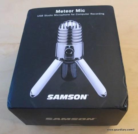 GearDiary Review: Samson Meteor Mic