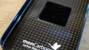 GearDiary iPhone 4 Gear Review: monCarbone Magnet Force Carbon Fiber Case