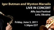 Music Diary Notes:Watch Wynton Marsalis Live on UStream Today!