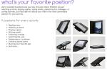 iPad 2 Case Review: Powis iCase 9 Position Case