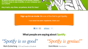 Music Diary Notes: Spotify Opens 'Sign Up For Invite Page' ... U.S. Launch Imminent!