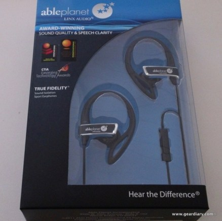 GearDiary Review: Able Planet SI350 Sport Earphone