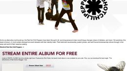 Music Diary Notes: Stream The Entire New Red Hot Chili Peppers Album for FREE on iTunes!