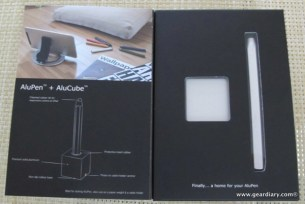 GearDiary iPad and Tablet Accessory Review: AluPen and AluCube