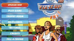 iPad Game Review: Fix It Up: Kate's Adventure