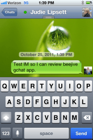 iOS App Review: BeejiveIM for GTalk  iOS App Review: BeejiveIM for GTalk  iOS App Review: BeejiveIM for GTalk  iOS App Review: BeejiveIM for GTalk  iOS App Review: BeejiveIM for GTalk