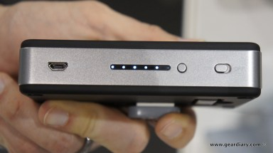 First Look at the myCharge Portable Power Bank 6000