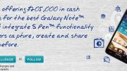 Write Android Apps? Write a Samsung Galaxy Note S App and You Could Win $100K!