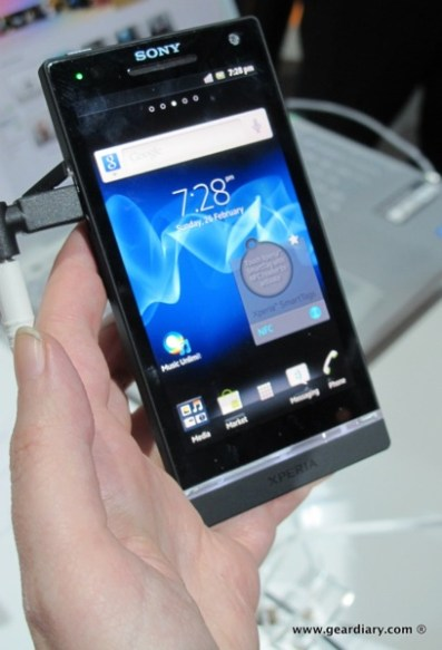 Pictures and Video from the Sony Press Conference on the Xperia Line of Smartphones