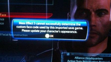 Mass Effect 3 Character Import