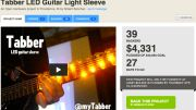 Tabber Is an Awesome LED Guitar Teaching Sleeve Kickstarter Project!