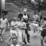 First Woman Boston Marathon