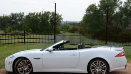Jaguar XKR-S Convertible: The Big Cat Daddy in the Texas Hill Country