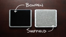 BOWDEN + SHEFFIELD Minimalist iPad Cases; Kickstart This