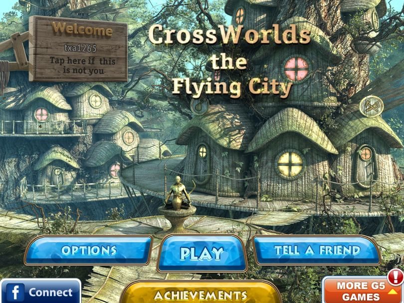 Crossworlds the Flying City 1