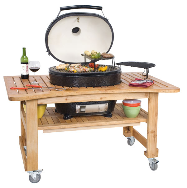 primo xl kamado dragons face off in the ceramic grill - Primo Grills