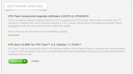 GearDiary US Cellular HTC Flyer Honeycomb Update - Do It the Same ... But Slower!