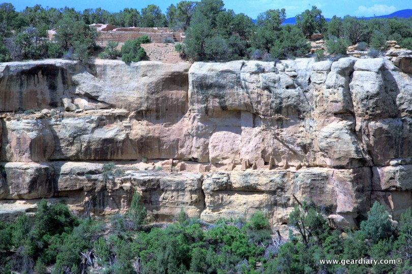Cliff dwelling ruins are everywhere!