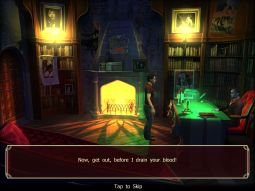 Sinister City Vampire Adventure HD for iPad Review
