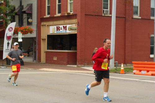 Mike WineGlass Running