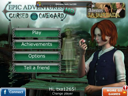 GearDiary Epic Adventures Cursed Onboard HD for iPad Review