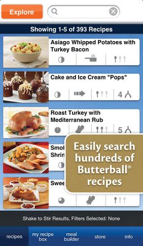 butterball iCookbook