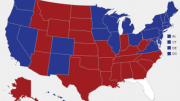 "Election Maps -  ""Why Is the Map All Red if Obama Won?"""