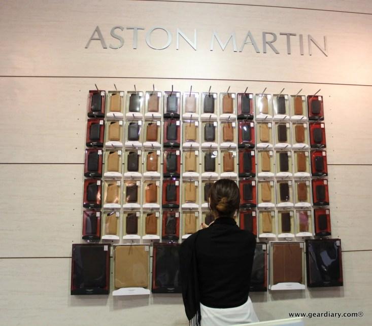 Beyzacases' exclusive Aston Martin luxury mobile accessories