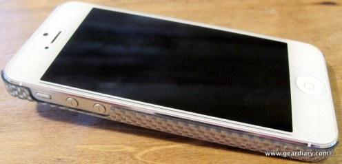 monCarbone iPhone 5 Peak Case in Luminous Silver